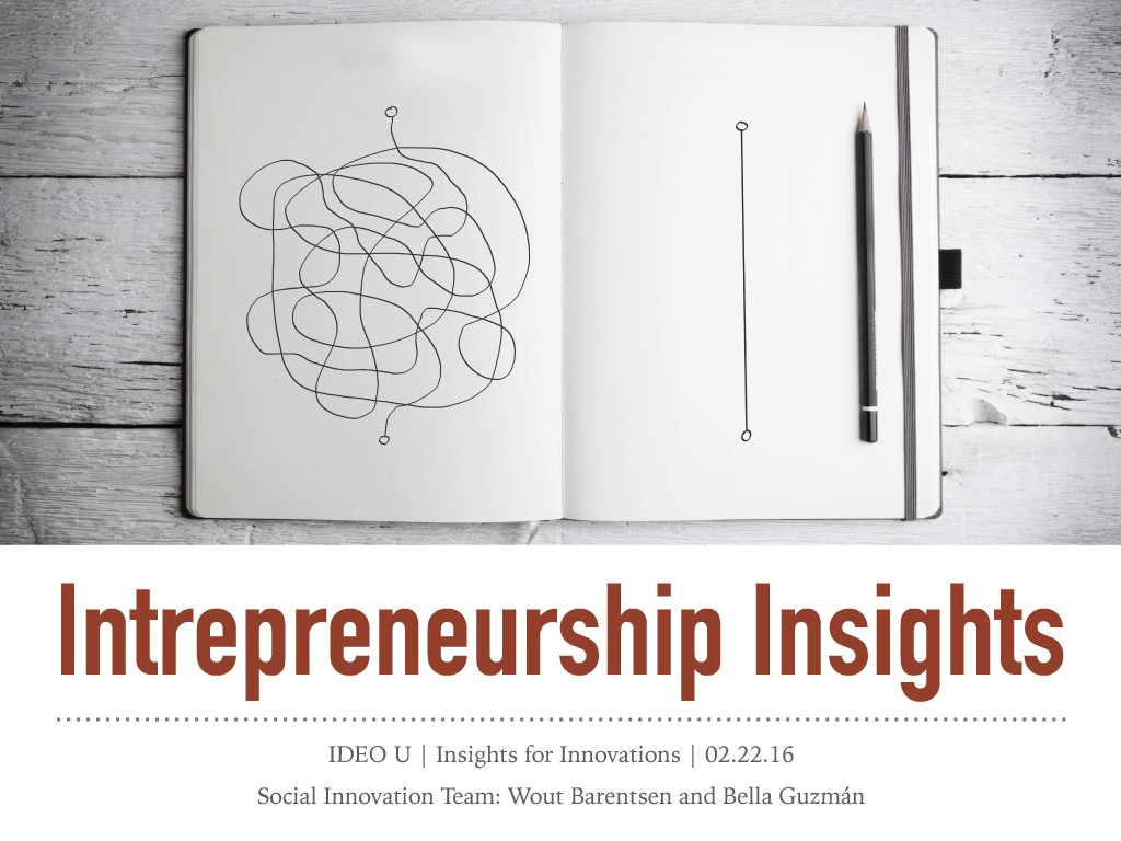 Select to view the Intrapreneurship Insights presentation (PDF)