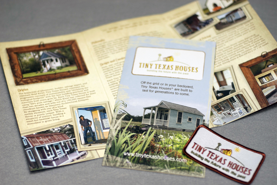 Tiny Texas House Brochure Logo